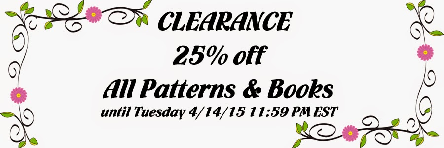 25% off Patterns & Books at Crazy Quilt Girl Fabric Shop