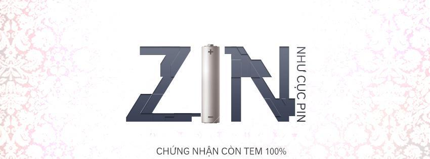 Ảnh bìa có chữ ZIN