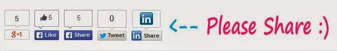 Cara Memasang Share Button Keren di Blog