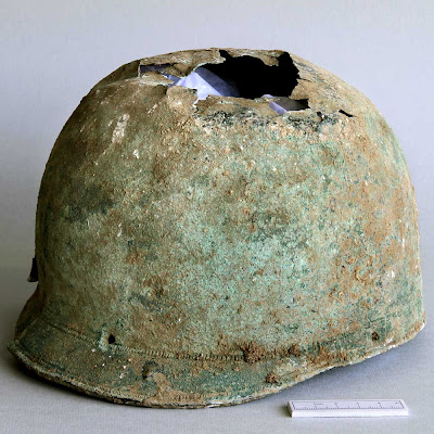 Iron Age bronze helmet found on Canterbury farmland