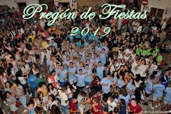 PREGÓN DE FIESTAS 2019