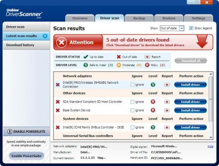 Driver Scanner Review - Read before you download driver scanner