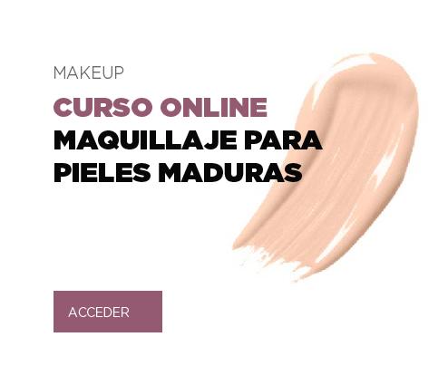 NUEVO CURSO ONLINE MAQUILLAJE PARA PIELES MADURAS