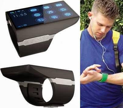Jam Mirip Smartphone (Smartwatch)