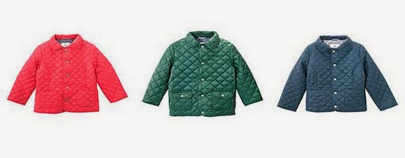 The Diminutive Review Petit Bateau Quilted Hunting Jacket