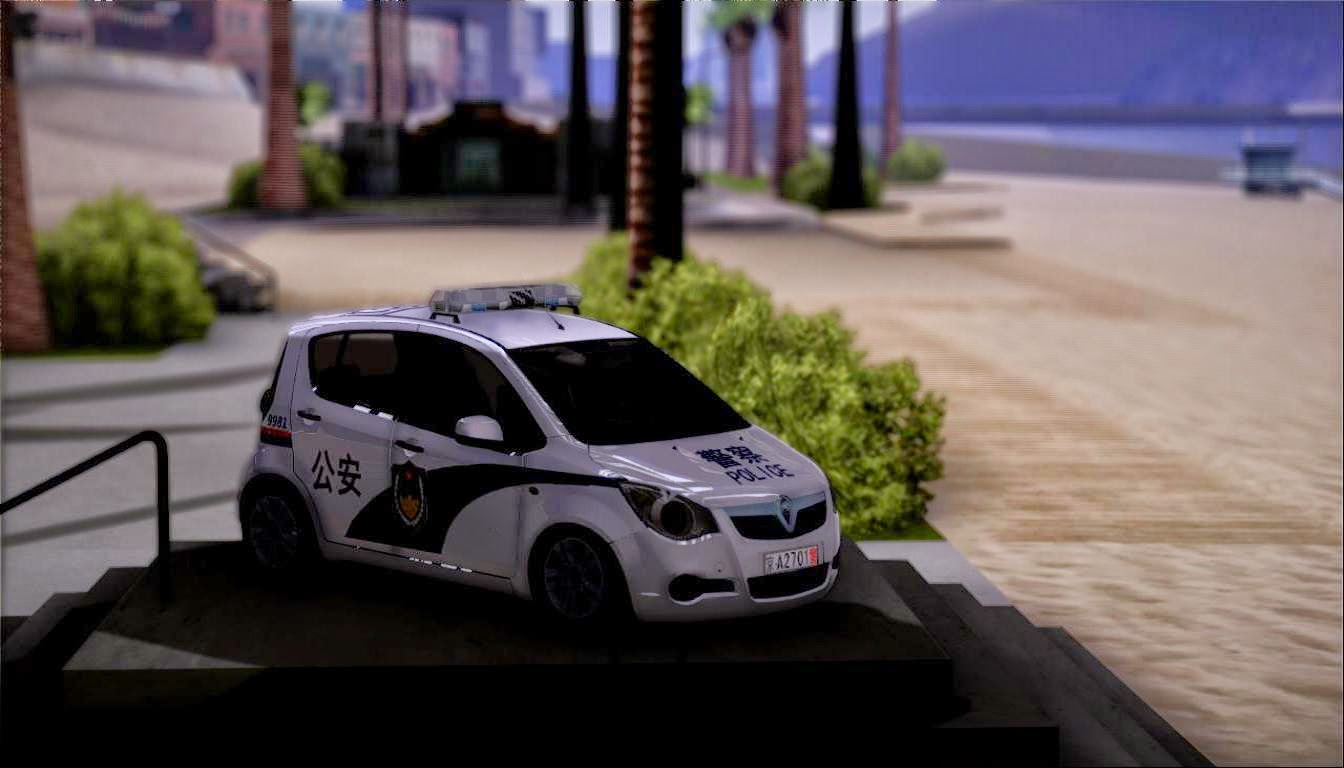 popo spot rel 2011 vauxhall agila suzuki splash chinese police texture. Black Bedroom Furniture Sets. Home Design Ideas