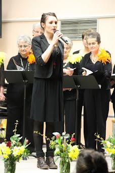 Notre cheffe de chœur, Marion Paillissé