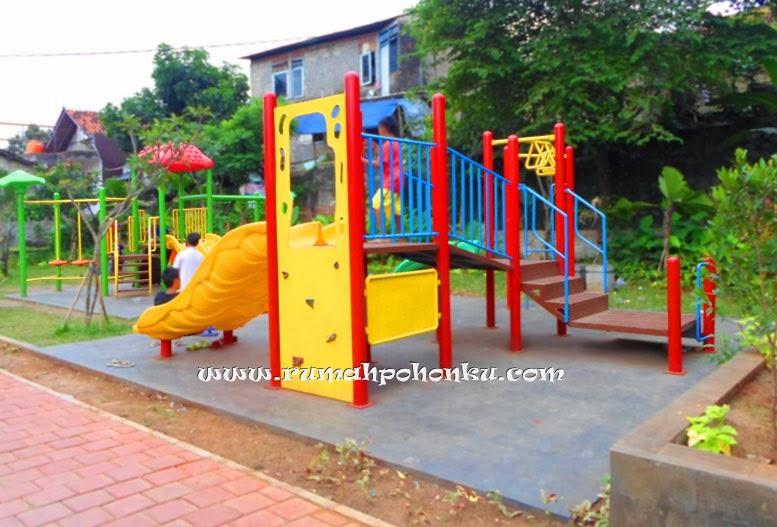 Playground besi panjat dinding perosotan