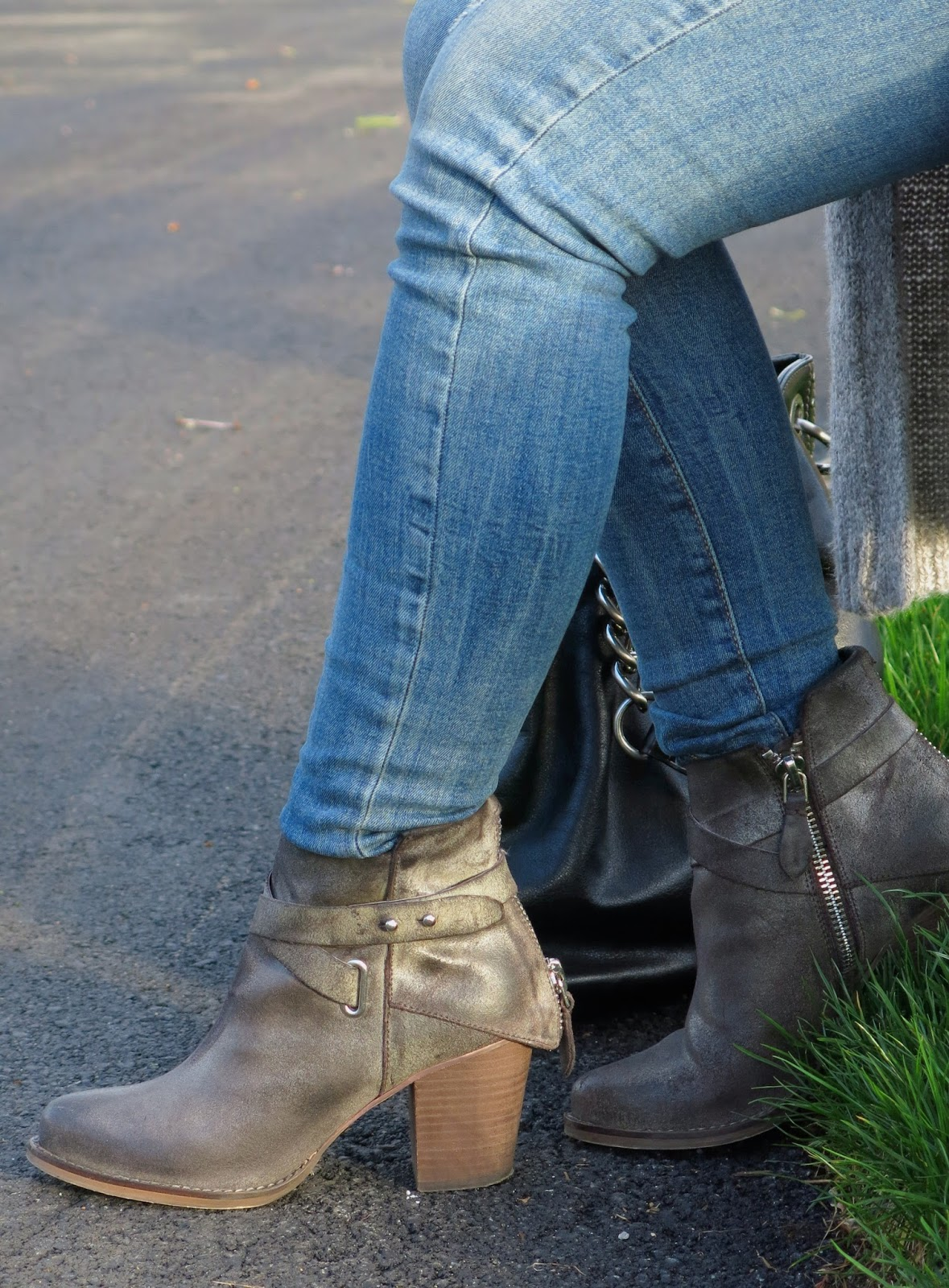 Wishbone Collection booties