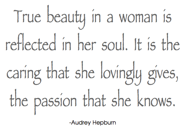 There Was A Post About Coco Chanel And Also Marilyn Monroe Today My Favourite Quotes By Audrey Hepburn