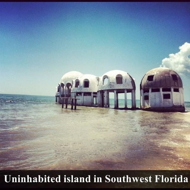 uninhabited island in southwest florida