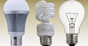 Lâmpadas LED vs Fluorescente vs Incandescente