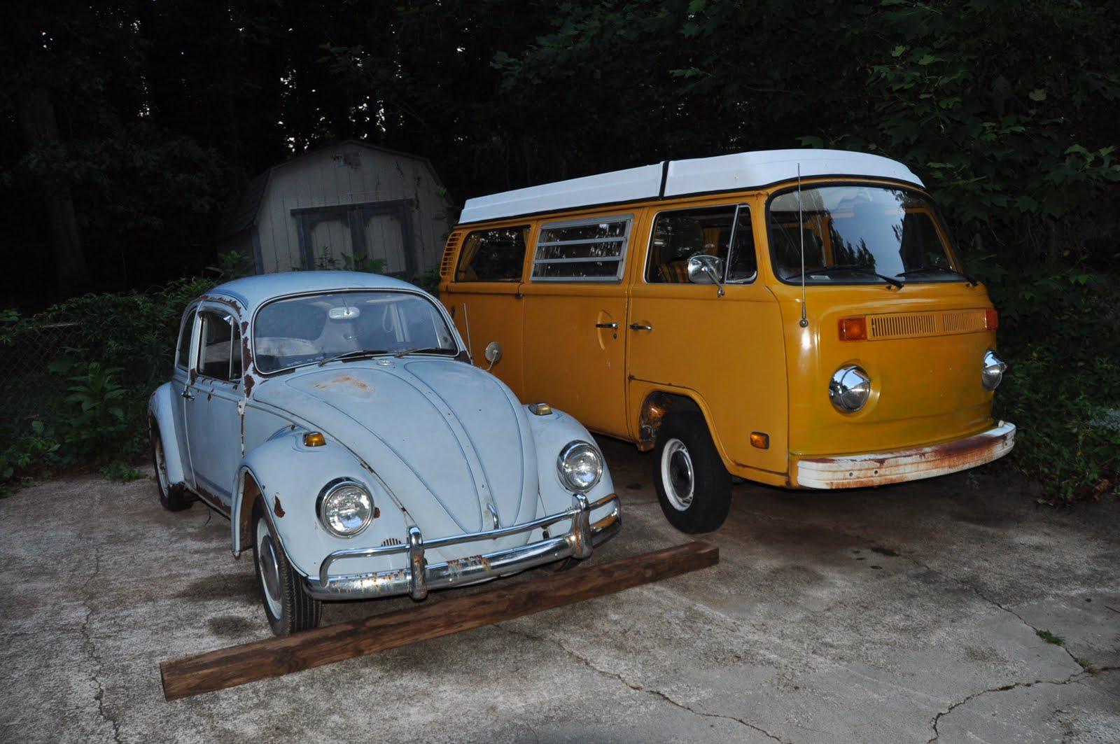 1967 zenith blue VW Beetle