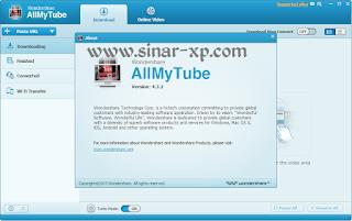 Wondershare AllMyTube 4.3.2.3 Full Crack