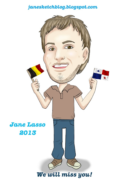 Caricatura hecha por Jane Lasso
