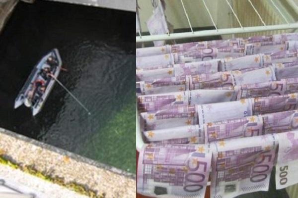 Uang yang ditemukan pria di sungai Danube, Austria