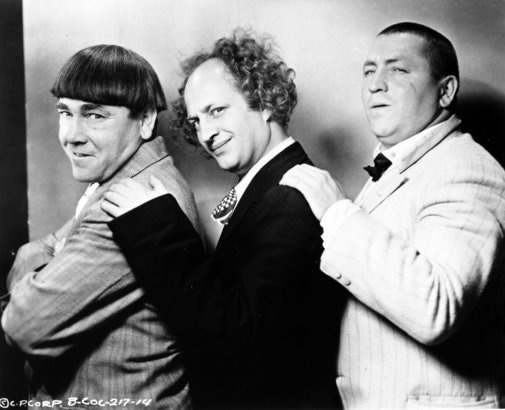 BLOGTHUMB: THE THREE STOOGES Might Have A Moe