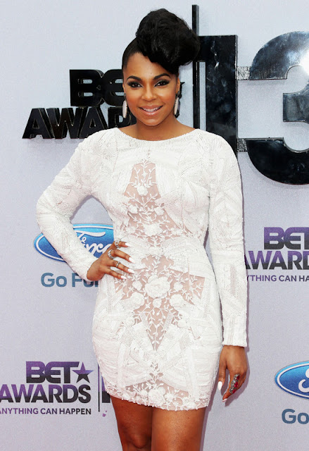 Ashanti Wears State Room Jewelry, ELAHN Jewels, and Soffer Ari at the 2013 BET Awards
