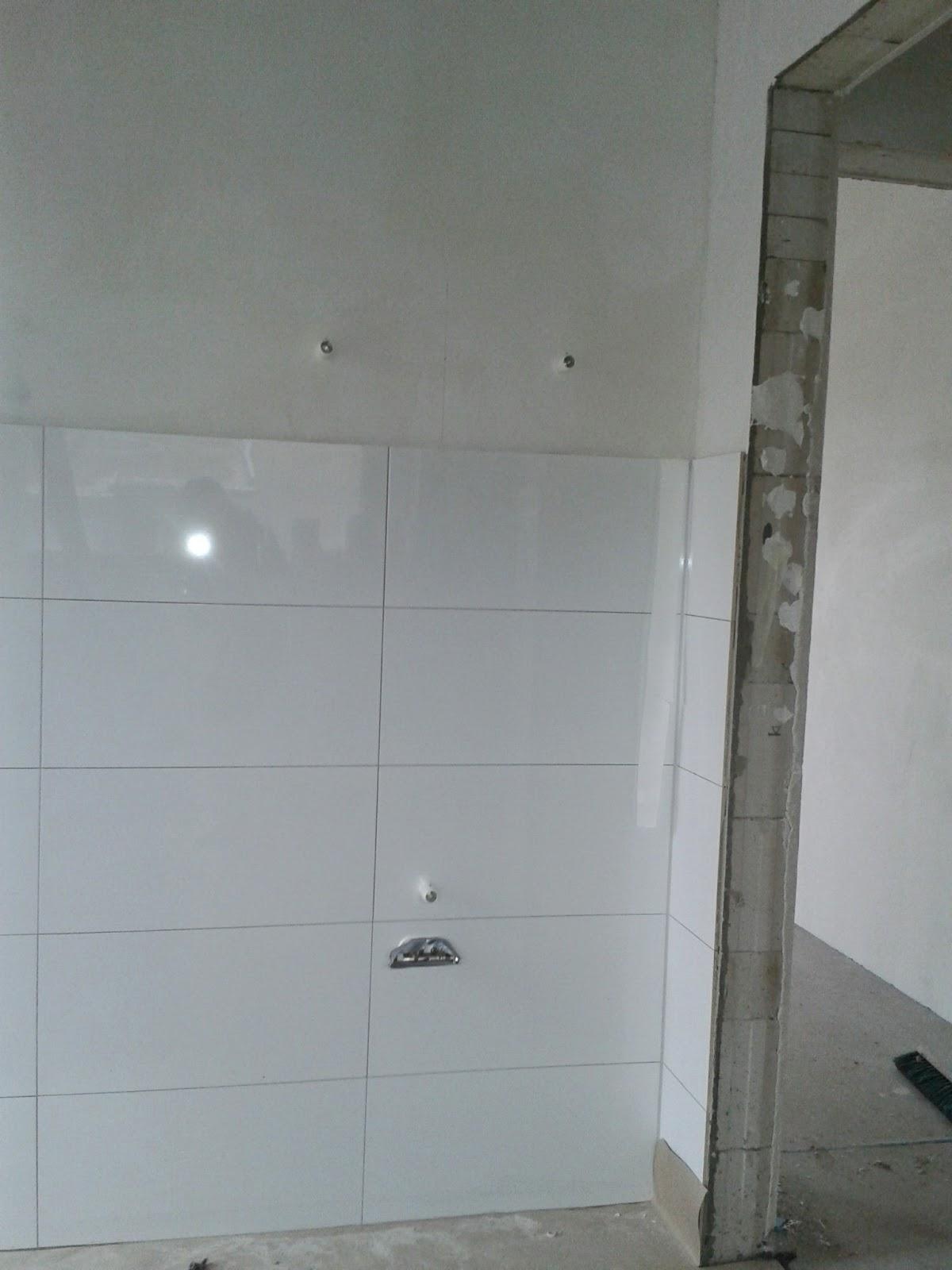 Unser Abenteuer - Hausbau 2013/2014: Gäste WC hängt und ...