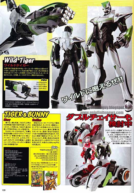 SHFiguarts Tiger and Bunny