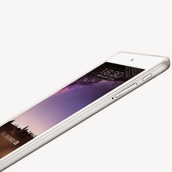 Tablet o Phablet con un grosor de menos de 1 centímetro.
