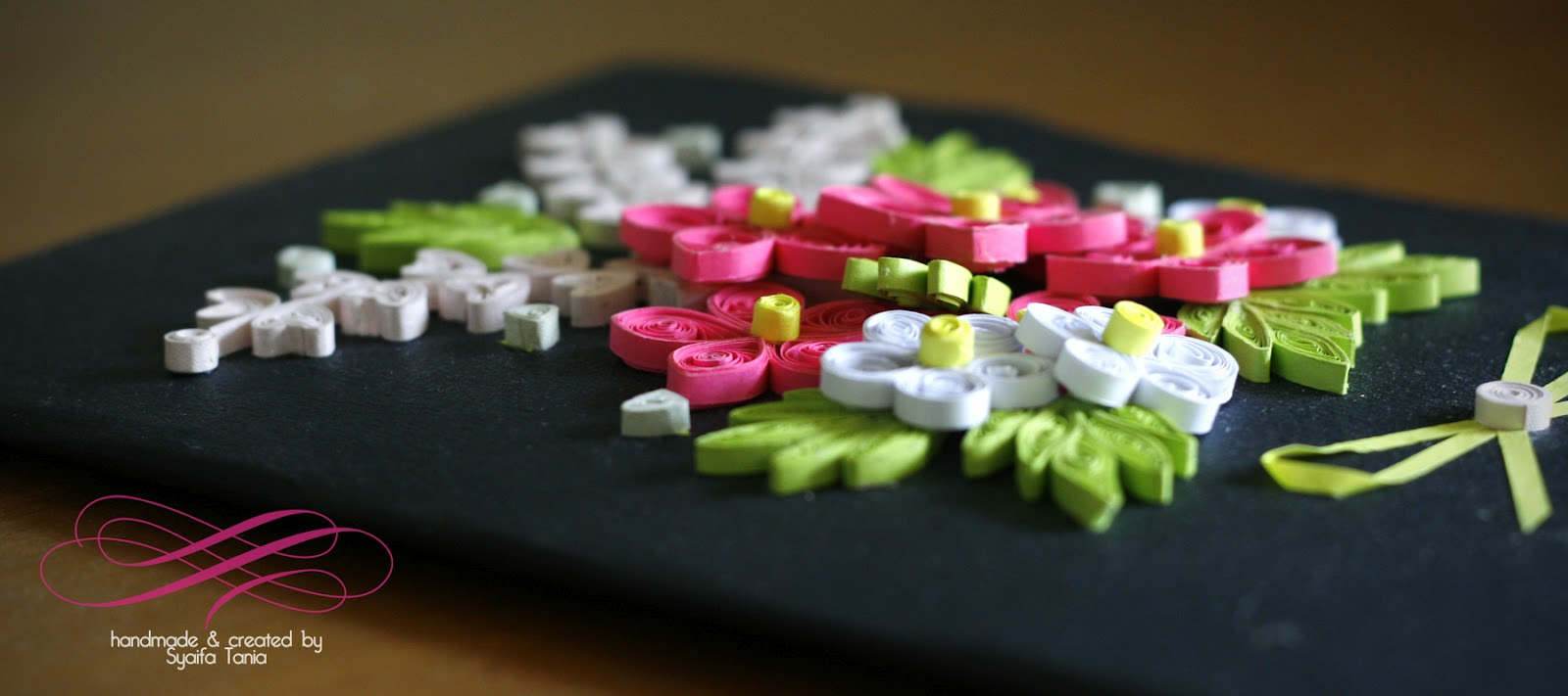 Paper Quilling By Syaifa Tania Flowers In The Garden