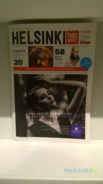 Helsinki This Week magazine