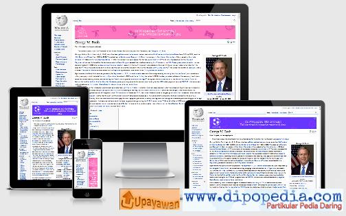 Ilustrasi 5 Artikel Wikipedia Yang Paling Sering Diedit - Upayawan