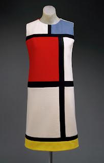 Yves Saint Laurent Piet Mondrian Dress