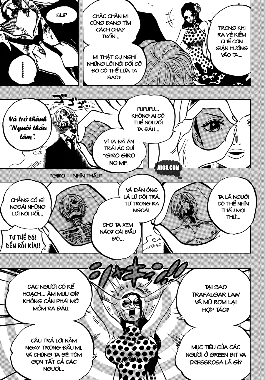 One Piece Chapter 712: Violet 005
