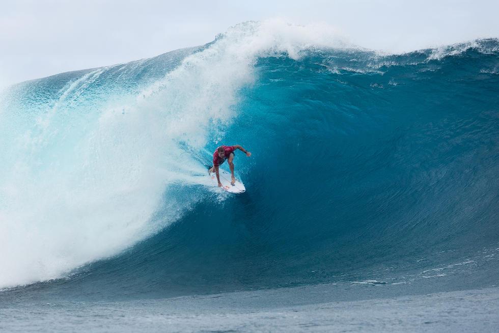 22 Mick Fanning Billabong Pro Tahiti 2015 Foto Stephen Robertson