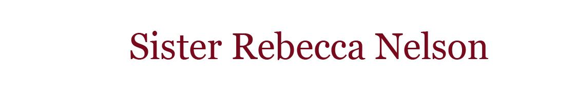 Sister Rebecca Nelson