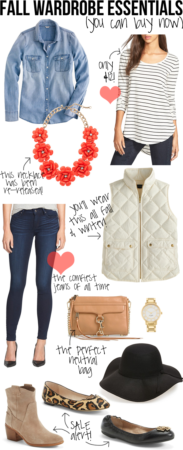 Southern Curls & Pearls: Fall Wardrobe Essentials (You Can ...