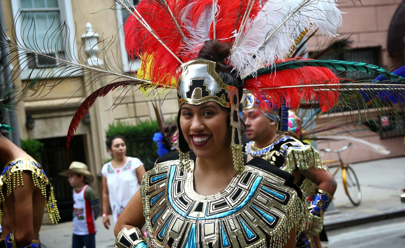 Desfile mexicano de Manhattan, Nueva York NY