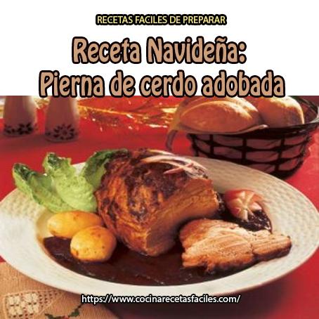 Pierna de cerdo adobada cocina recetas f ciles for Como cocinar manos de cerdo