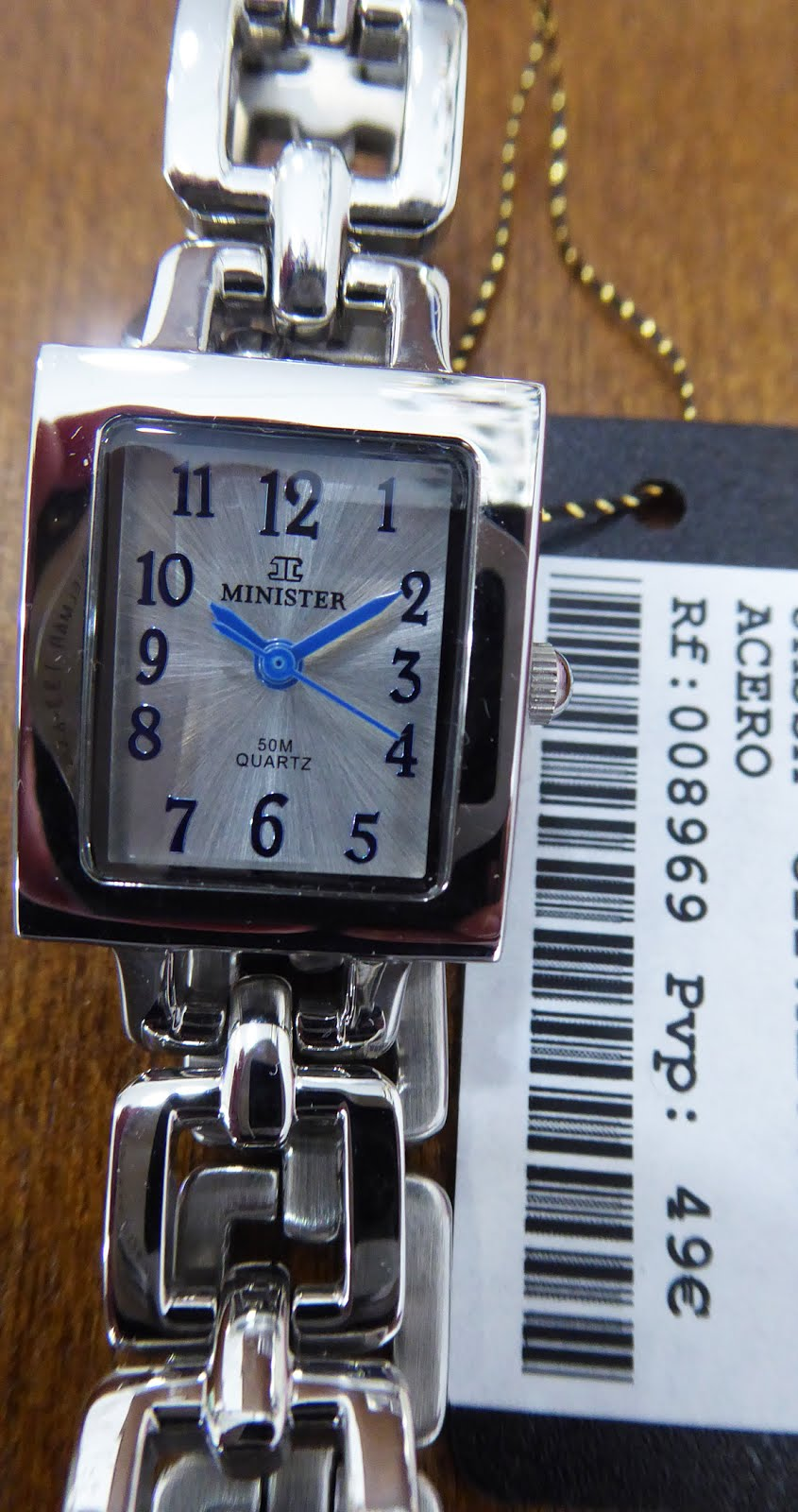 Reloj Minister Acero