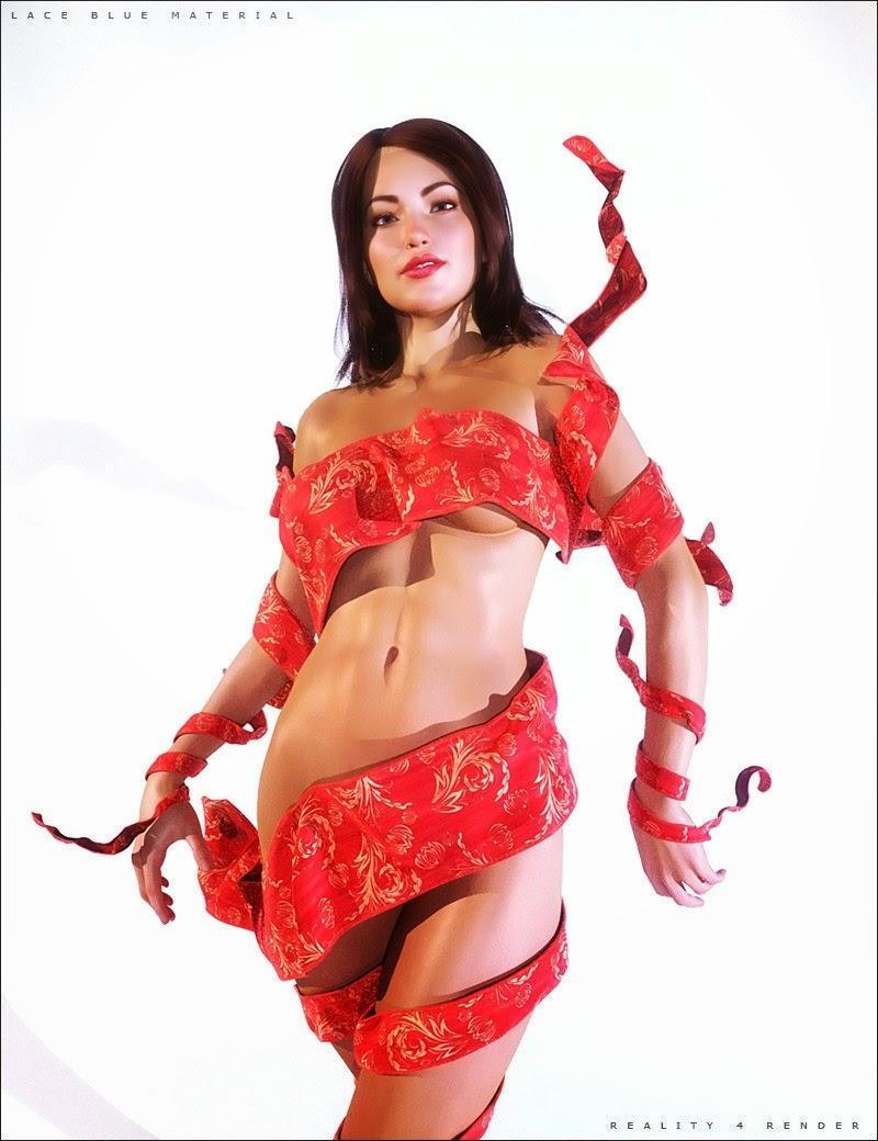 Fantaisie Tissu Wrap - une touche de couleurs