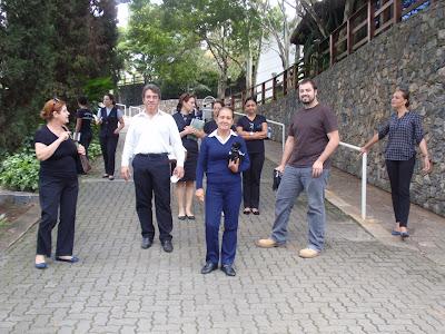 Estudantes visitam o Spa Med Sorocaba Campus
