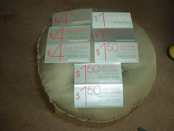 photograph regarding Virginia Slims Coupons Printable identified as Printable Cigarette Coupon codes 2019: No cost Virginia Slims