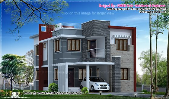 1850 sq-ft villa design
