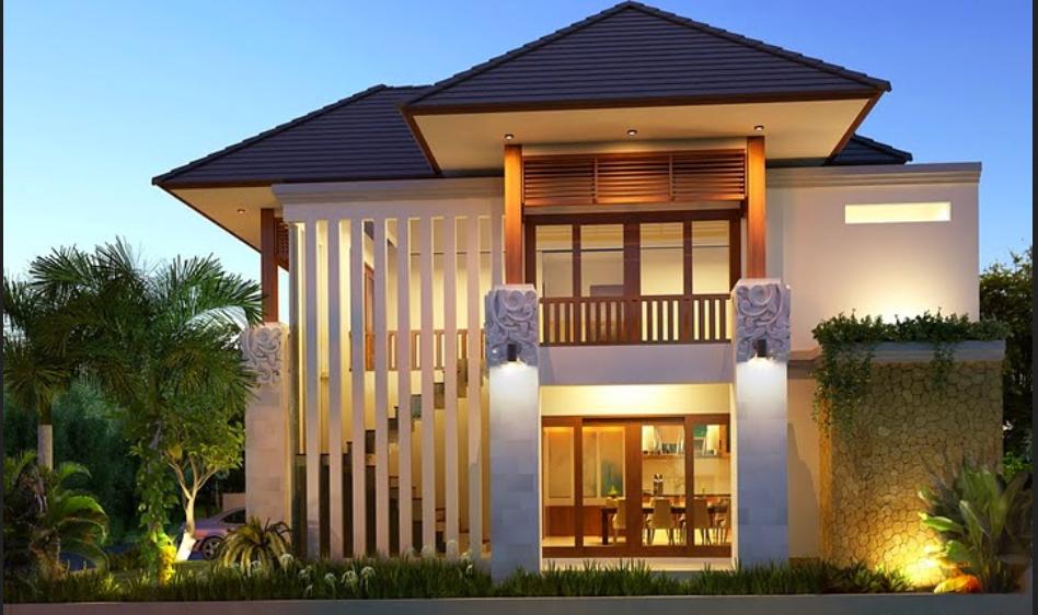 Desain Rumah Minimalis 2 Lantai Luas Tanah 100m2 dan 200m2