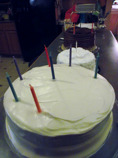 Healthy Birthday Carrot Cake
