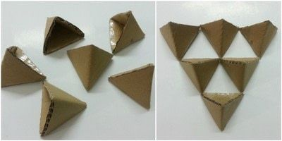 3D Origami Triangle