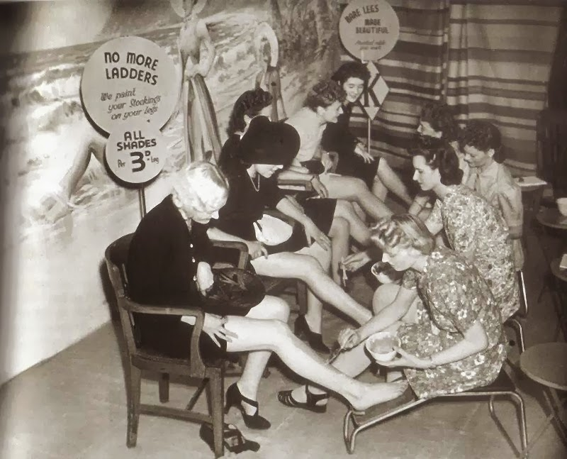 Leg make-up bar.