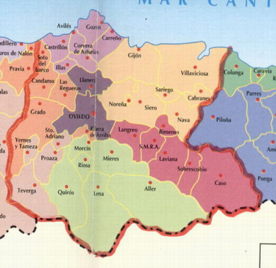 Asturias Central