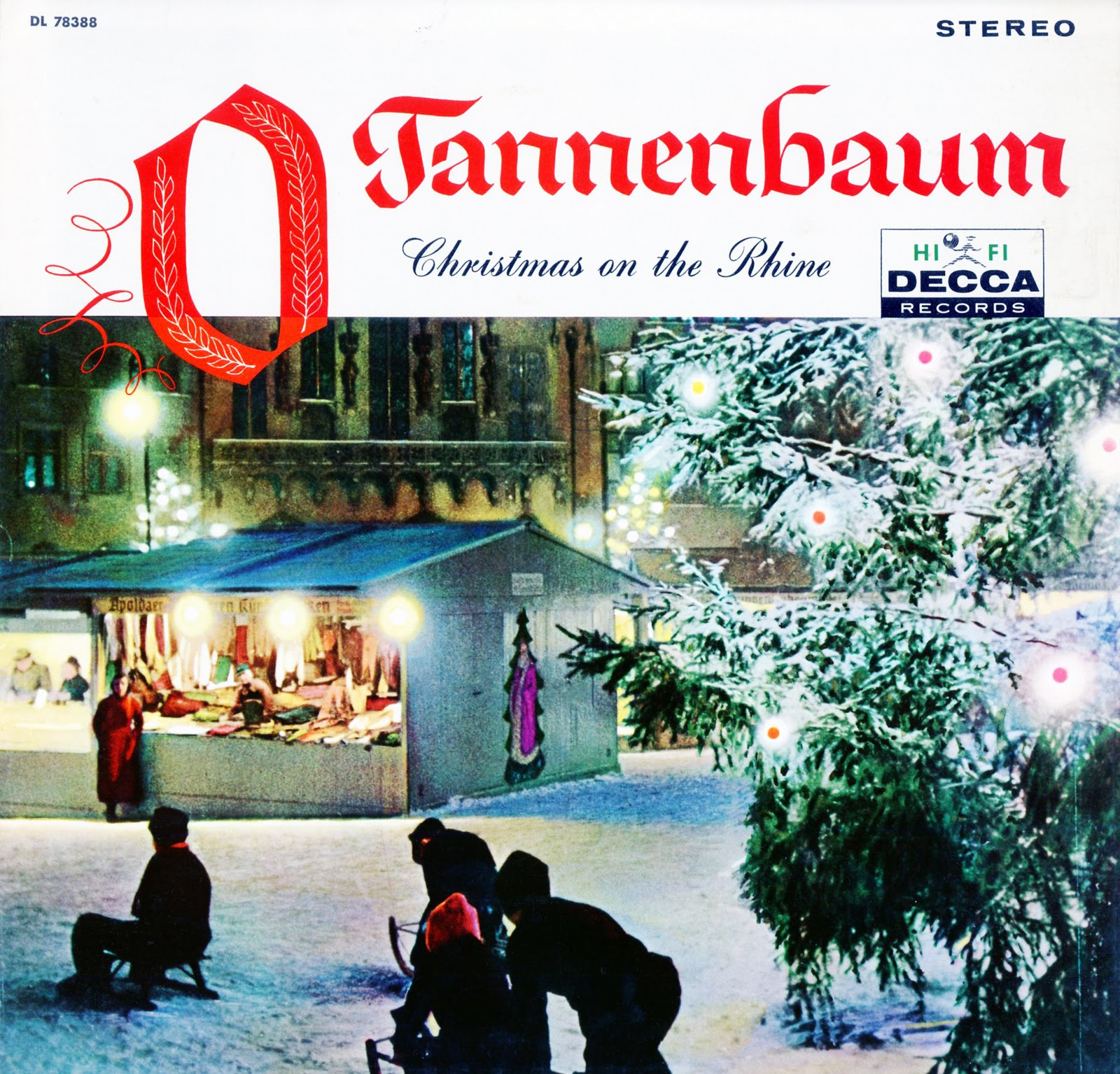 O tannenbaum christmas on the rhine werner muller - Obi tannenbaum ...