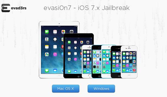 Jailbreak iOS 7 evasi0n
