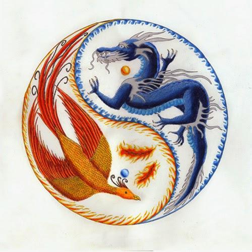 Il rifugio degli elfi il drago e la fenice - Simboli portafortuna cinesi ...