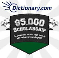 Dictionary.com $5,000 Scholarship