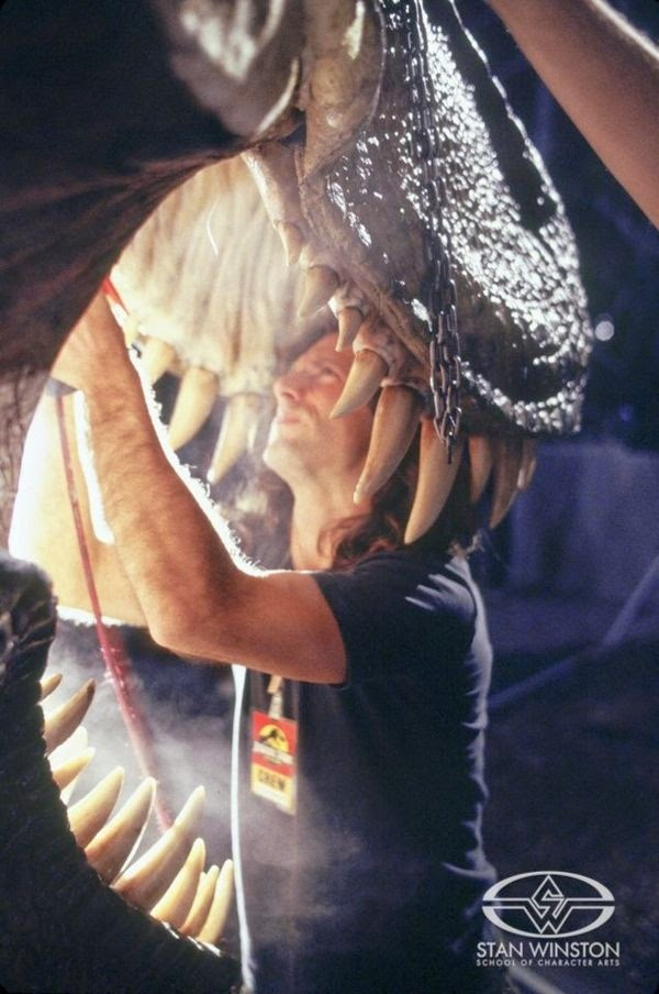 behind the scenes jurassic park